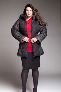 Описание: Верхняя зимняя одежда для полных, Зимняя одежда для полных.