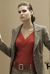 Деловой стиль женской одежды Катерина Леман осень-зима 2007-2008.