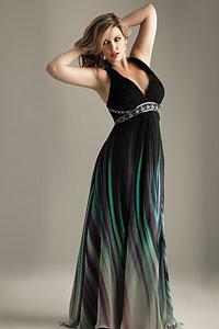 Вечерние платье для полных девушек