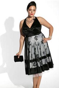 Платье для вечеринки на нестандартную фигуру