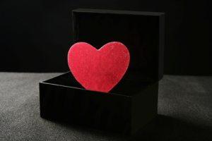 Сердце в коробке