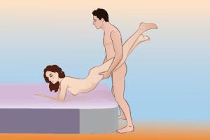 Секс перекресные позы