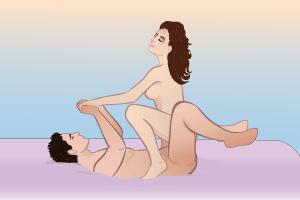 Как правильно двигаться если в сексе девушка сверху