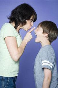 Мама наказания сына