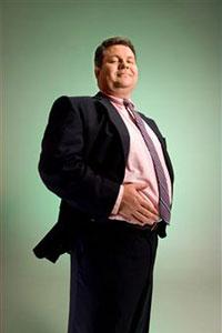 Лишний вес у мужчины