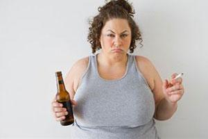 Как худеет человек при раке легких