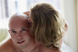 Секс с лысым мужчиной 6