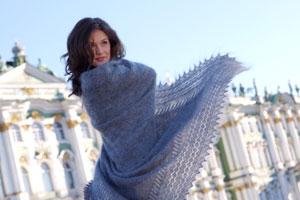 Модные шали 2011