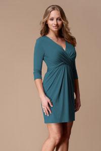 Для женщин с большой грудью модели платья