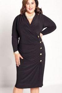 Платья осень для полных женщин фото