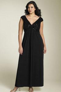 Фасоны вечерних платьев для полных женщин настолько же разнообразны.