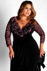 Черное элегантное трикотажное платье