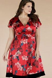 Платье для полных 2012