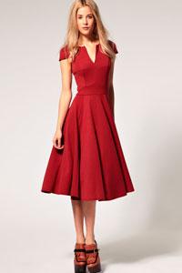 Платье с пышной юбкой правила ношения
