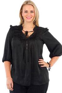 Модная одежда для полных 2012 коллекции