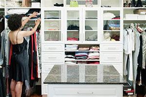 Выбор гардероба