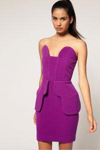 Платья из структурированной ткани