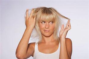 волосы на попе марганцовка