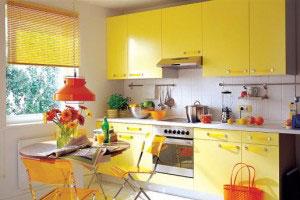 Дизайн обои на маленькой кухне