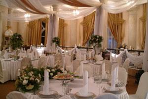 Свадебный зал украсить своими руками