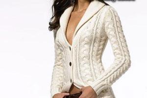 Вязаное пальто спицами | Схемы вязания