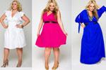 новогодние платья 2012 для полных.