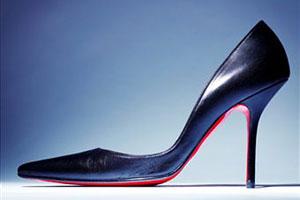 Необычные туфли на шпильке