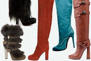 Модная зимняя обувь