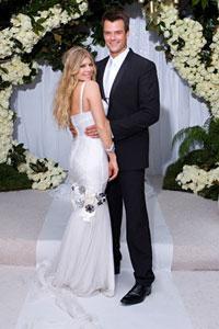 Свадьба Ферджи и Джоша Дюамель