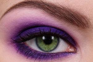 Цветовая гамма зимнего макияжа