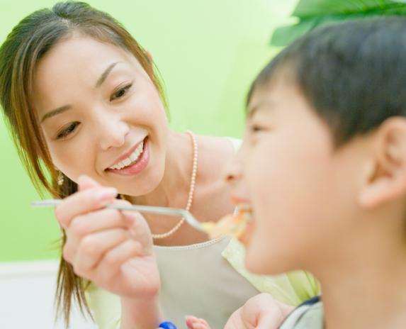 Детское поведение связано с типом пищи