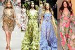 фасоны платьев с рукавами фонариком