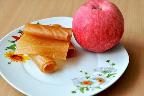 Как сделать пластины из яблок