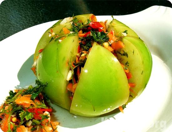 Острые зеленые помидоры на зиму острые рецепты